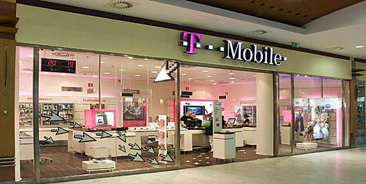T- Mobile Interactive Shop, Prag, Češka